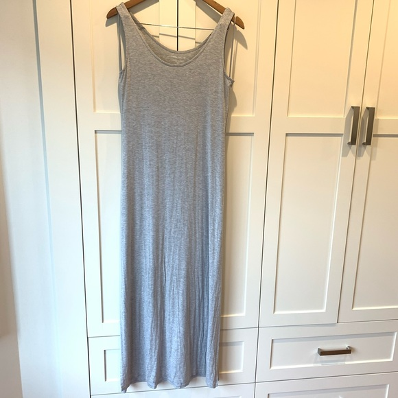 Lord & Taylor Maxi Dress with Subtle Side Slits